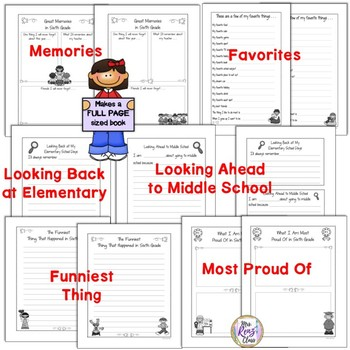 Tales of a 6th Grade Someone Memory Book A Great End of Year Memory Book Project