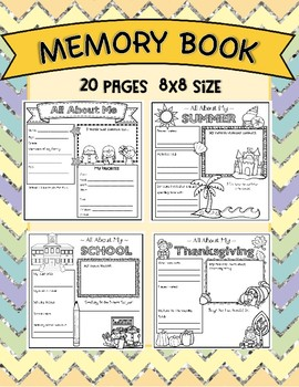 Memory Book - 8x8 size