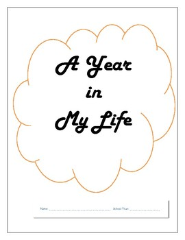 Memory Book: A Year in My Life