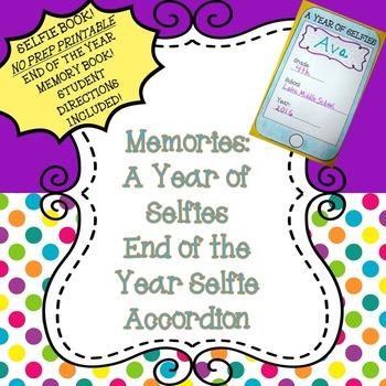 Memory Book: A Year of Selfies