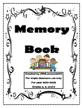 Memory Book, Autographs, and Favorites...Just like a Yearbook 2017-2018