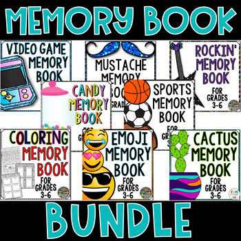 Memory Book Bundle | End of the Year Activities