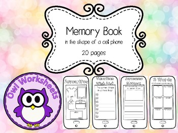 Memory Book - Cell Phone