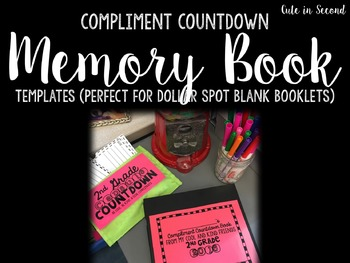 "Memory Book ""Compliment Countdown"""