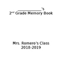 Memory Book Cover (Editable)