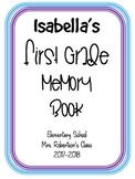 Memory Book Cover- Editable