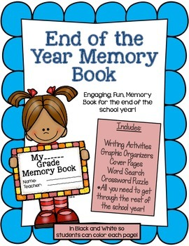 Memory Book End of The Year Activity Pack