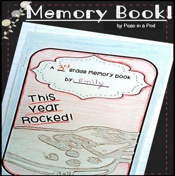 Memory Book End of Year Memories