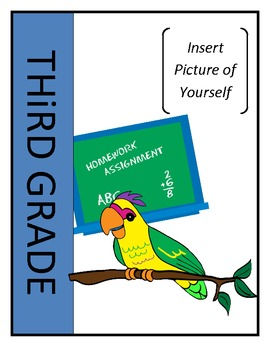 EDITABLE Memory Book - End of Year Activity 3rd and 4th Grades