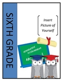 EDITABLE Memory Book - End of Year Activity 5-12 grade