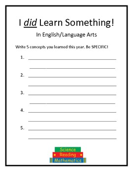 EDITABLE Memory Book - End of Year Activity 5-12 grade
