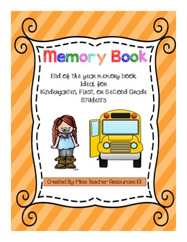 Memory Book - End of Year - (Yearbook)