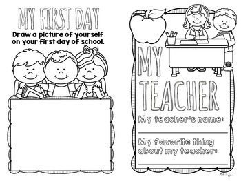 End of the Year Activities - Memory Book