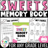 End of the Year Activity   Memory Book: Candy Theme {Grades 3-6}