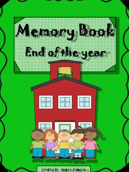 Memory Book ~ End of the Year