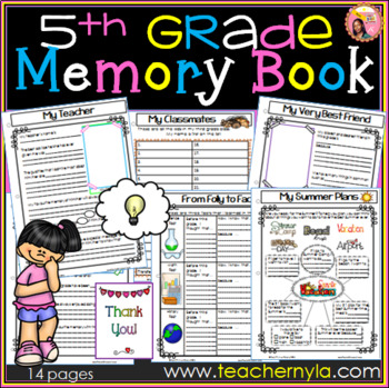 Memory Book Fifth Grade