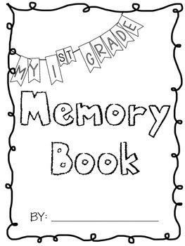Memory Book (First Grade)