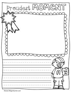 Memory Book First Grade