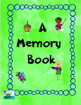 Memory Book Add or Draw A Picture