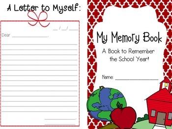 Memory Book - For the Upper Grades