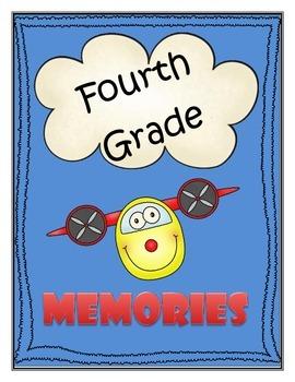 Memory Book - Fourth Grade
