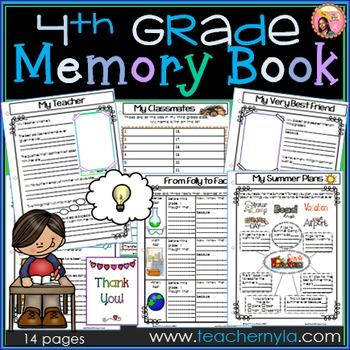 Memory Book Fourth Grade