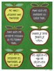 Memory Book Task Cards ~ French ~ Apples