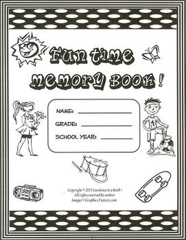Memory Book: Fun Times! (black and white)