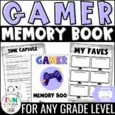 End of the Year Memory Book Activity: Video Game Theme {Gr