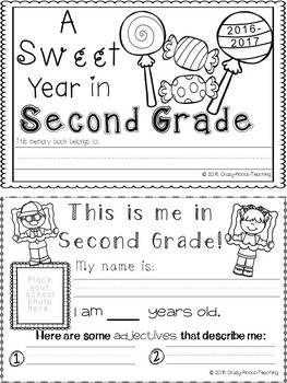 Memory Book- Grade 2