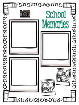 Memory Book {Grades 3-6}