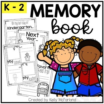 End of the Year Memory Book {K-2}