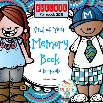 Memory Book K-2 Freebie