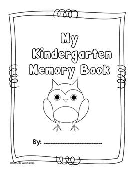 Memory Book: Owl Theme