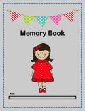 Memory Book - Kindergarten
