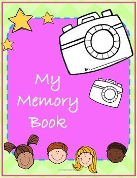 Memory Book- Kindergarten, First Grade, Preschool
