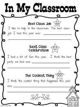 My Memory Book-Kindergarten, Grades 1 and 2