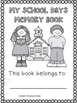 Memory Book -Kindergarten