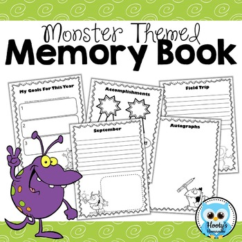 Memory Book - Monster Theme