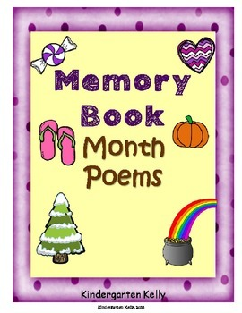 Memory Book Month Poems