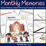 "Memory Book - ""Monthly Memories"""