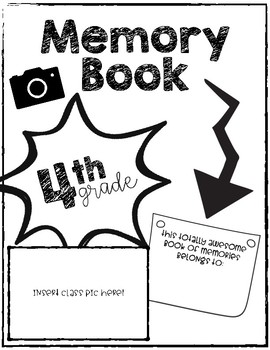 Memory Book - PDF & Google Versions