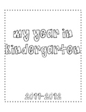 Memory Book Pages for End of the Year, k-3