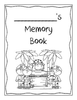 Memory Book - Pirates Theme! - End of the Year