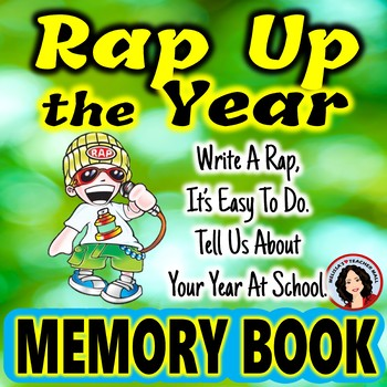 Memory Book End of Year Activities
