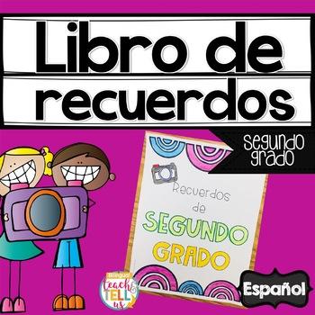 Memory Book SPANISH 2nd grade- Libro de Recuerdos