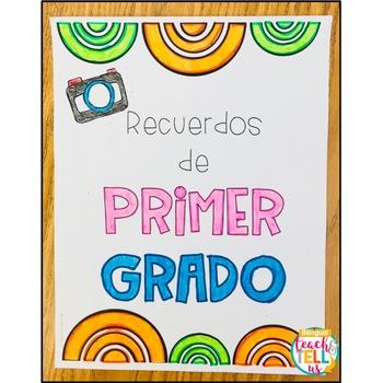Libro de recuerdos - Memory Book Spanish