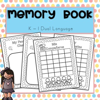 Memory Book Spanish Bilingual/Dual Language