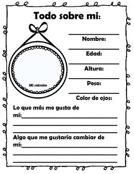 Memory Book - Spanish - Libro de Recuerdos