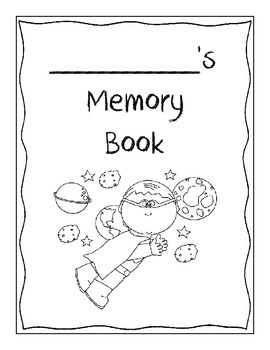 Memory Book - Superhero Theme! - End of the Year